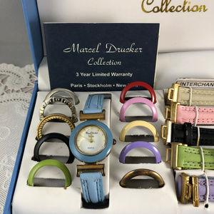 Marcel Drucker Accessories - Marcel Drucker Watch Collection of Straps & Bezels